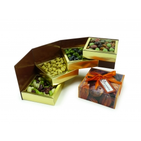 Boîte Cubo luxe 4 articles 575g
