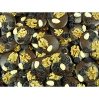 Mendiants chocolat Noir Vrac 1Kg