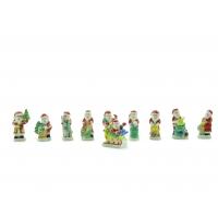 Collection 10 Fèves Père Noël