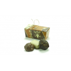 Mini ballotin 3 chocolats assortis