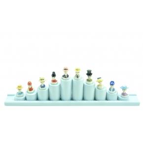 Collection 10 Fèves ''Les Chapeaux''