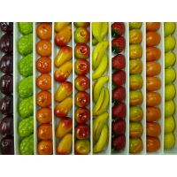 Pâtes d'amandes fruits Vrac 1Kg